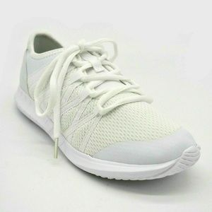Athletic Works Girls Mesh Lace Up Low Top Sneakers